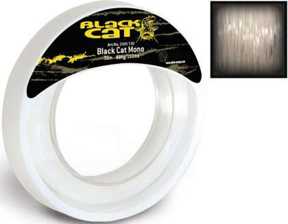 Black Cat Mono Leader 1,00 mm 50 m 54 kg/120 lbs