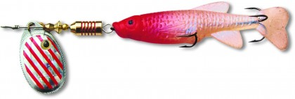Zebco 3g 9,5cm Minnow Flyer silber/rot