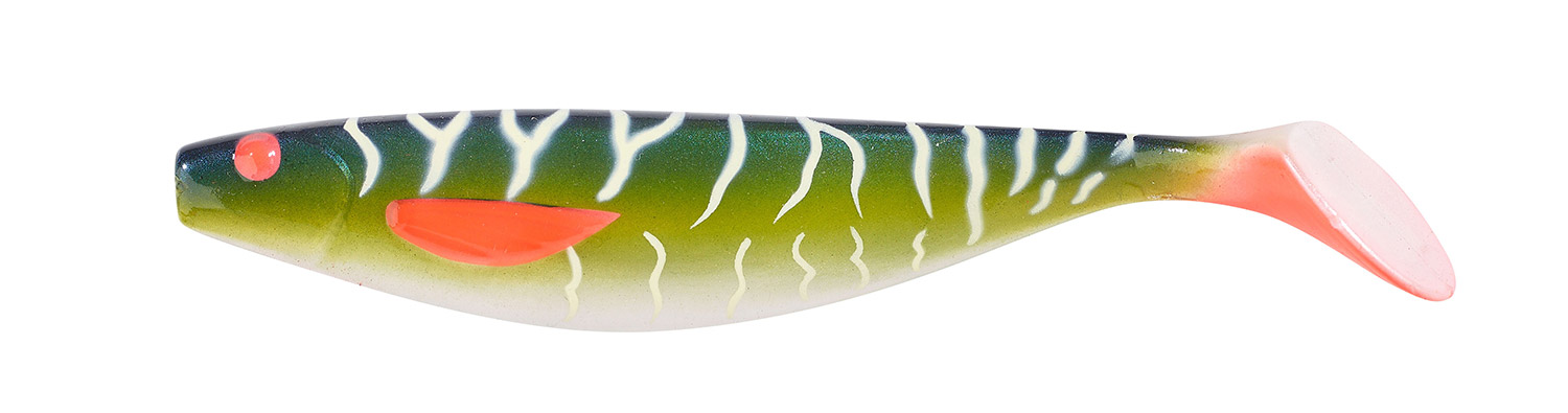 Balzer Shirasu UV Booster Shad UV Pike 7 g 10 cm