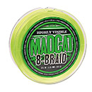 DAM Madcat 8-Braid 900 m 0,60 mm 61,2 kg grün