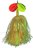 DAM Effzett Pike Rattlin Spinner fluo yellow/orange 40 g