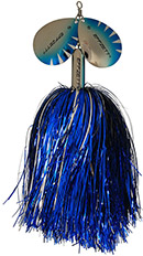 DAM Effzett Pike Rattlin Spinner silver/blue 40 g