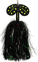 DAM Effzett Pike Rattlin Spinner black/demon 65 g