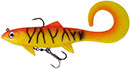 DAM Effzett Pike Seducer Curltail 23 cm 130 g Orange Perch