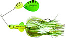 DAM Effzett Pike Rattlin Spinnerb. 20 cm 56 g Fluo Yellow/Green