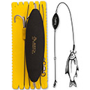 Black Cat U-Float Rig Treble Hook L 1,20 m Gr. 2/0