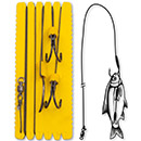 Black Cat Big Bait Ghost Rig L 1,40 m Gr. 8/0/3/0