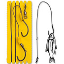 Black Cat Bouy and Boat Ghost Single Hook Rig L 1,40 m Gr. 6/0