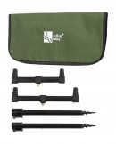 Zite Fishing Rod Rest Rutenauflagen Set mit Tasche
